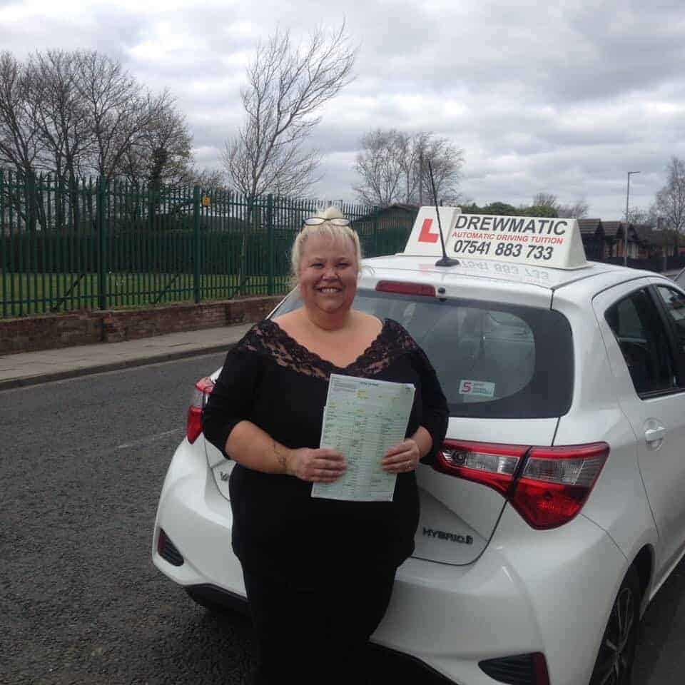 Female Automatic Driving Instructor Hartlepool