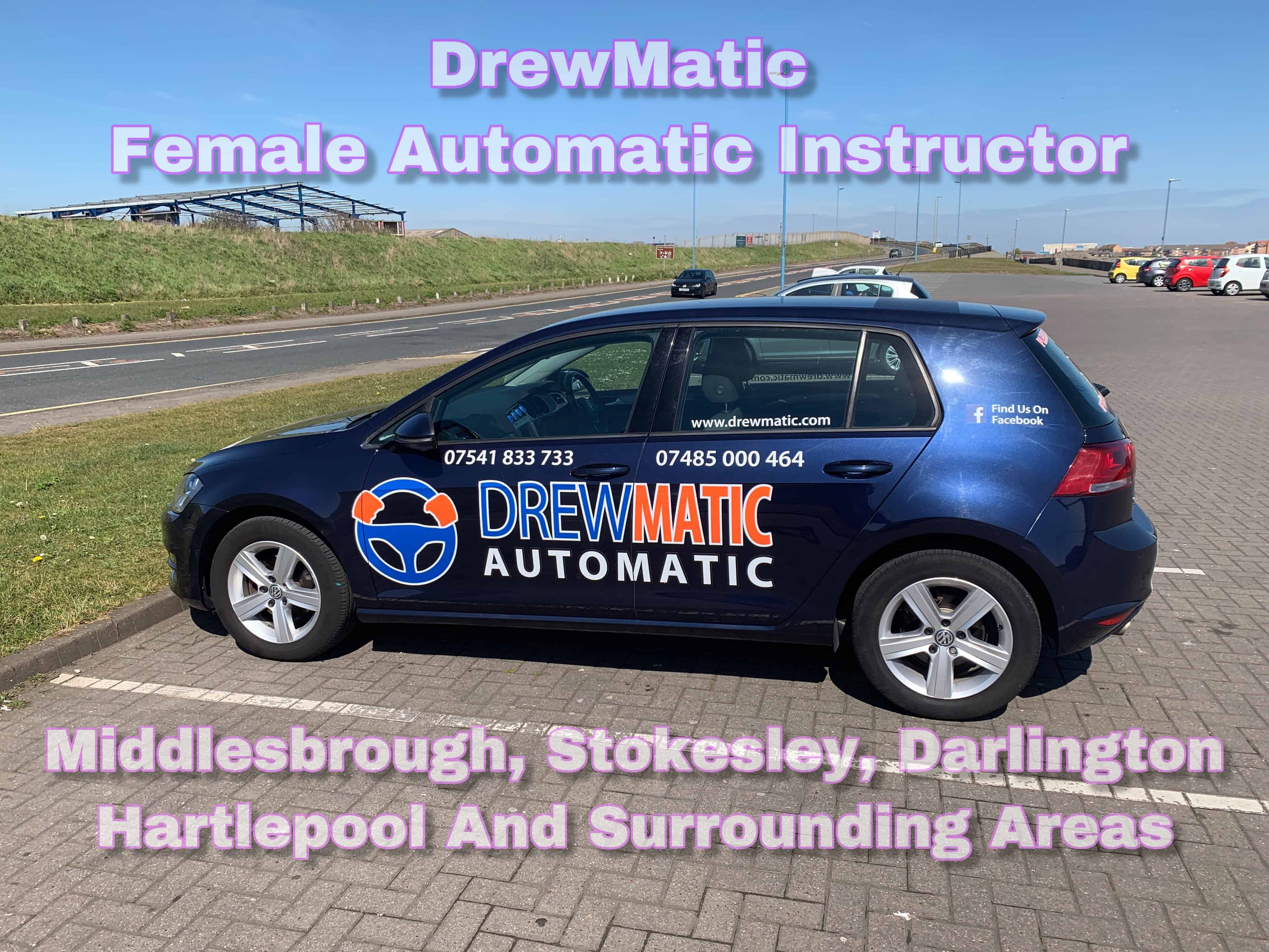 Female Automatic Driving Instructor Middlesbrough