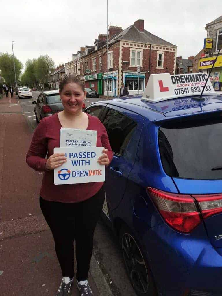Automatic Driving Lessons In Hebburn