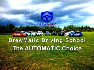 Automatic Driving Lessons With DrewMatic Driving School