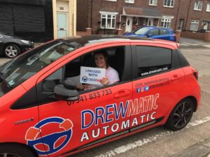 Alison Just Passed Her Automatic Driving Test First Time