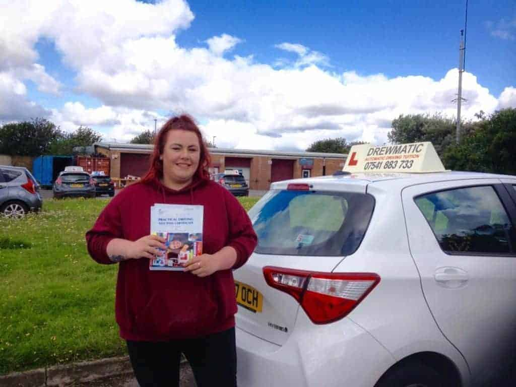 Female Automatic Driving Instructors In Hartlepool