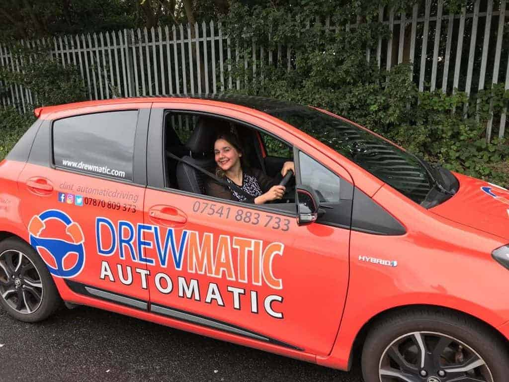 DrewMatic Driving Test Pass