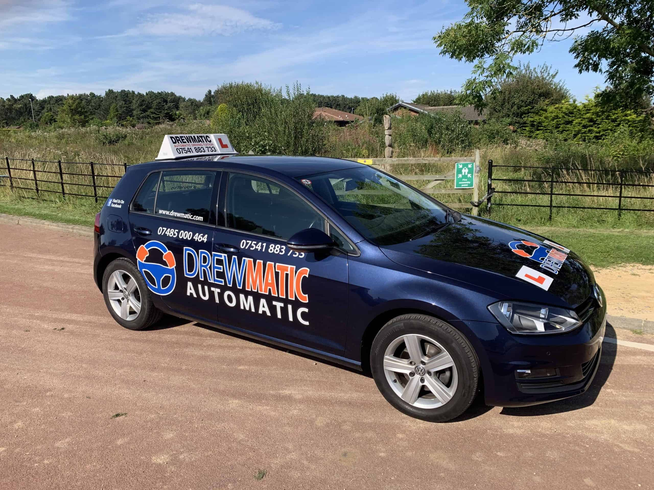 automatic driving lessons In Darlington