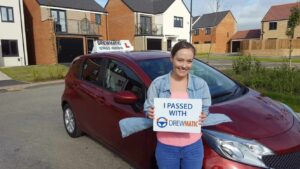 Laura Passed Her Automatic Driving Test In Blyth