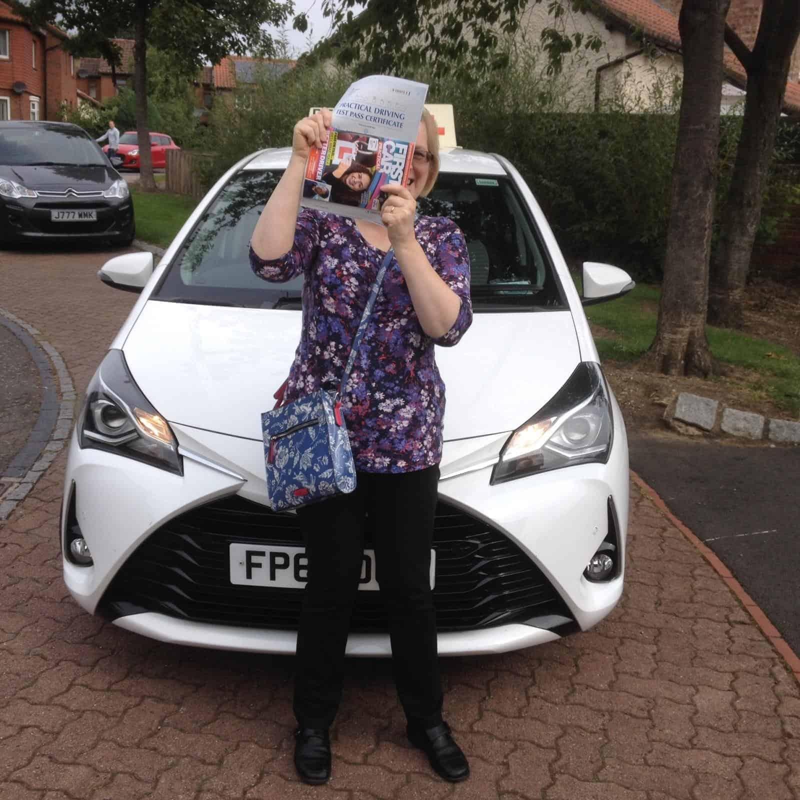 Female Automatic Driving Instructor Sunderland