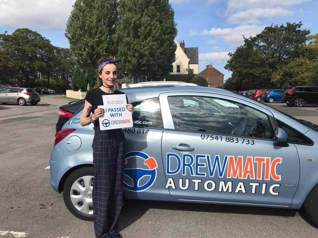 Female Automatic Driving Instructor Sunderland