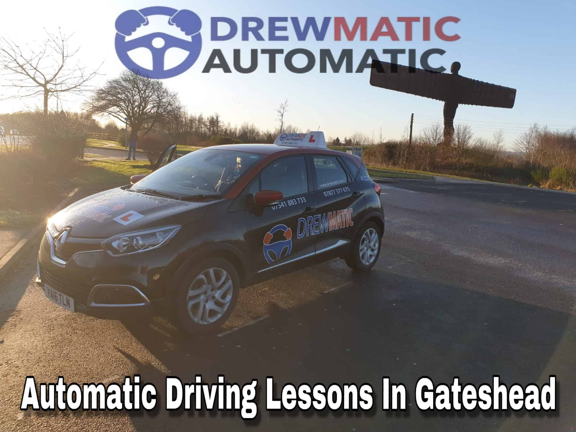 Automatic Driving Lessons In Gateshead
