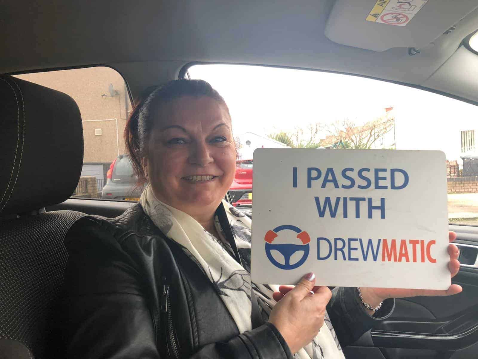 Female automatic Driving instructor in Hartlepool