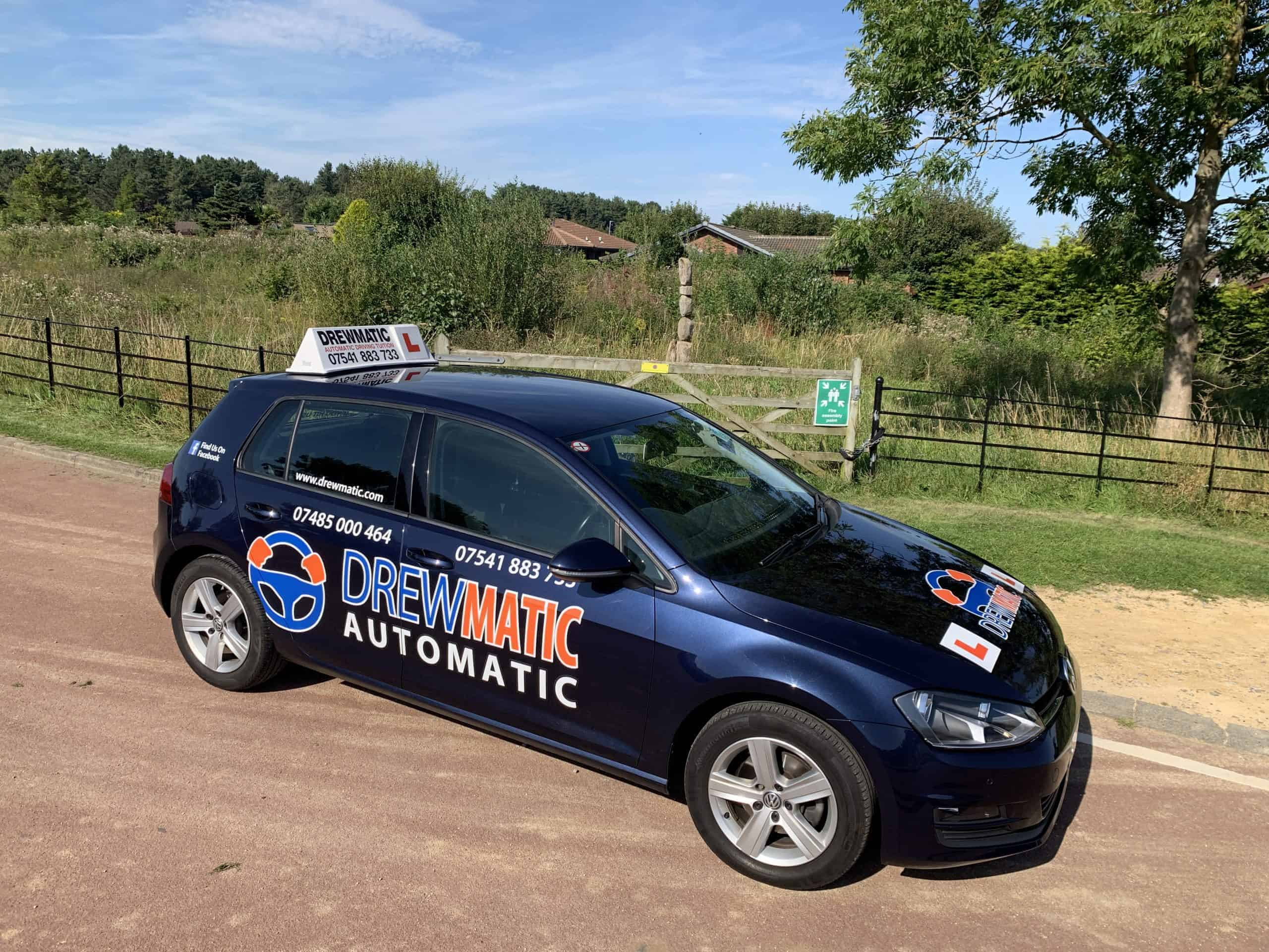 Automatic Driving Lessons Gateshead