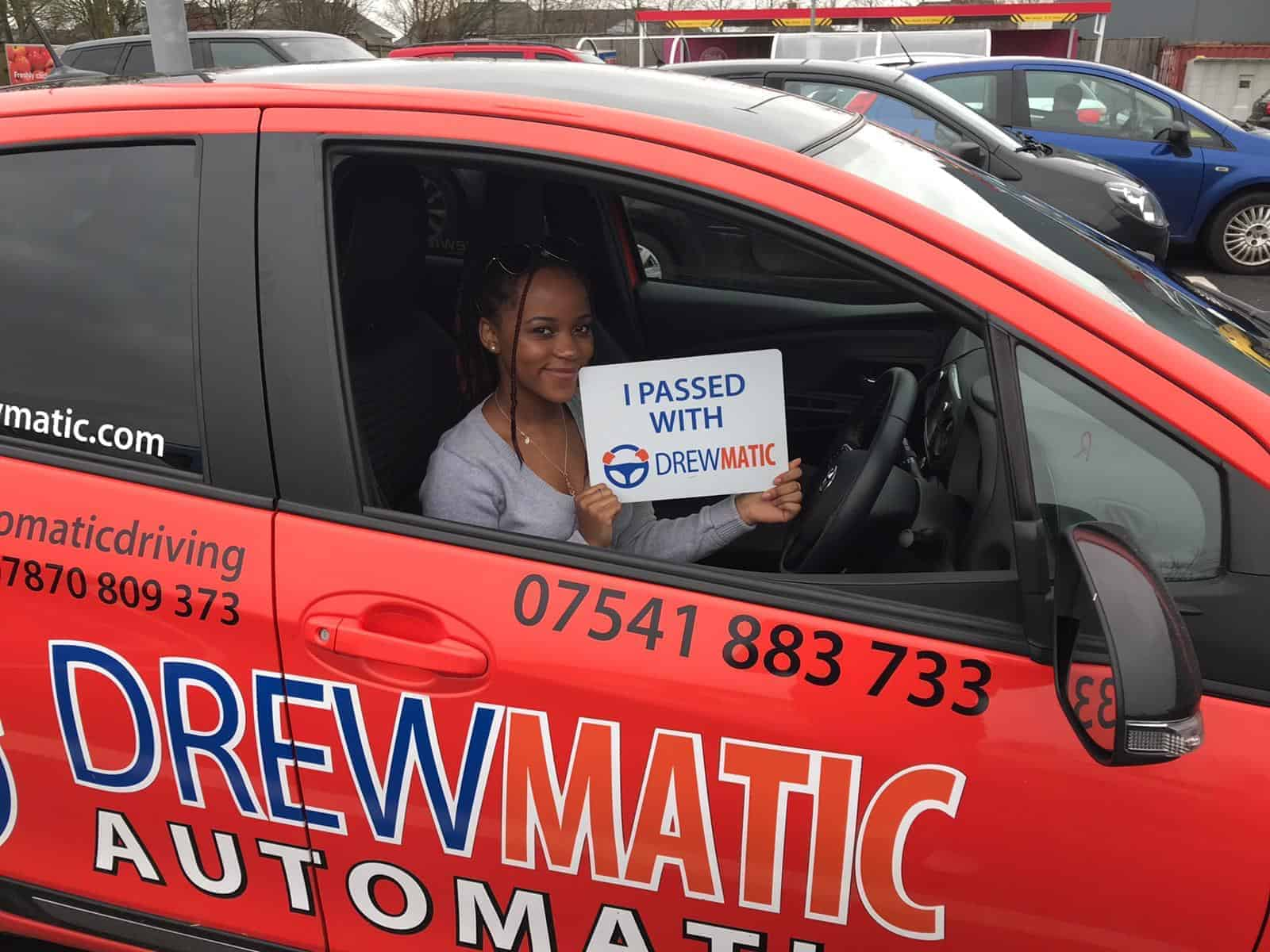 Automatic Driving Lessons DrewMatic Driving School