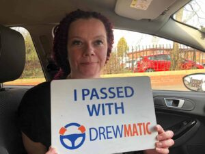 Tracey Passed Her Automatic Driving Test In Hartlepool