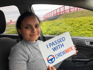 Gurpreet Just Passed Her Automatic Driving Test In Sunderland